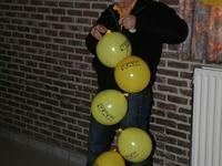 Bollonnen per lopende meter.