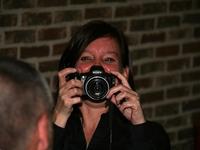 Fotograaf ontmoet andere fotograaf.