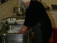 En uiteraard .... Ook een afwas hoort erbij.